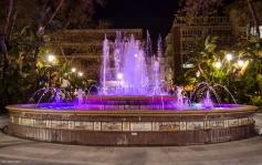 12 de Mayo,Fuente de La Alameda, Marbella. Proyecto Noche 365