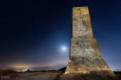 13 de Junio, Torre Ladrones en las Dunas de Artola Beach Marbella.
