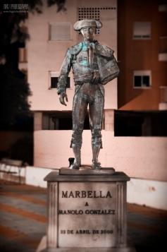 30 de Junio,Monumento a Manolo Gonzalez,Marbella