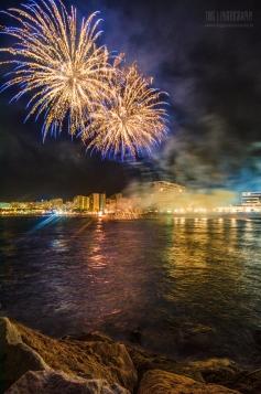 9 de Junio,Comienzo de la Feria y Fiestas de San Bernabe 2013 con los fuegos artificiales.